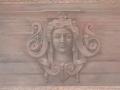 Décor antique imitation bas relief, acrylique sur toile