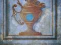 Décor d'inspiration antique effets de matières et bas relief acrylique et huile sur papier