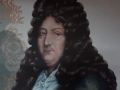 Détail - Portrait Racine, décor en sous-sol, parking public à Levallois-Perret