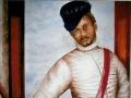 """Décor """"a fresco"""", d'inspiration Véronèse, 165x120cm"""