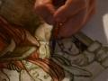 fresque-de-st-romain-détail-de-la-maquette