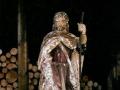 Restauration de la statue de St Roch, XVIème - avant restauration