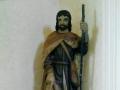 Restauration de la statue de St Roch, XVIème - après restauration