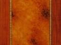 Imitation marqueterie de bois, huile